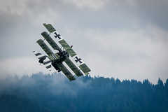 Fokker Dr.I (Robert Schöller) Tags: nikond850 fokker dri fokkerdri aircraft airshow airplane flying nikkor200500mmƒ56vr nikon200500mmƒ56vr