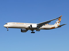 F-WZNM Airbus A350-1000 Etihad (@Eurospot) Tags: fwznm airbus a350 a3501000 etihad toulouse blagnac a6xwd
