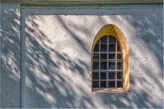 Happy Windows Wednesday! (Janos Kertesz) Tags: architecture window old building house antique facade historic white wall europe travel history background glass stlaurentius kapelle unterbrunn bayern