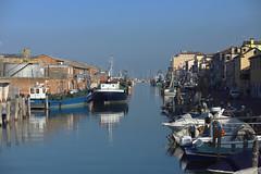 Canale Lombardo . (Chioggia) (terziluciano) Tags: chioggia canalelombardo città veneto canon6dmarkii centristorici canali riflessi
