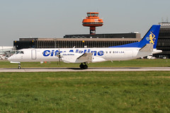 SE-LSA (PlanePixNase) Tags: aircraft airport planespotting haj eddv hannover langenhagen cityairline saab 2000 sf20