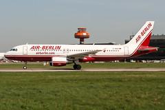 D-ABDK (PlanePixNase) Tags: aircraft airport planespotting haj eddv hannover langenhagen airberlin airbus 320 a320