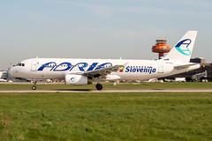 S5-AAC (PlanePixNase) Tags: aircraft airport planespotting haj eddv hannover langenhagen adria slovenia airbus 320 a320