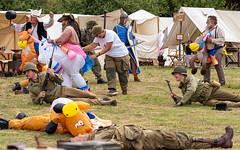 The Final Battle (Mandy Willard) Tags: 365 1108 tents unicorn horse vikings soldiers
