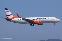 C-FTOH_B738SWL_Smartwings_hybrid Sunwing (LV Aircraft Photography) Tags: 23062019 pmi smartwings boeing b738 cftoh 29647 2009 hybridcs