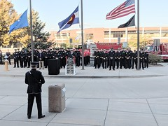 September 11, 2019 - 9/11 memorial at the Thornton Civic Center. (City of Thornton)