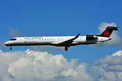 C-FTJZ (Air Canada EXPRESS -JAZZ) (Steelhead 2010) Tags: aircanada aircanadaexpress jazz bombardier crj crj900 yow creg cftjz