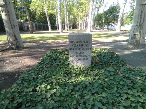 Noch ein Gedenkstein