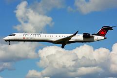 C-GJAZ (Air Canada EXPRESS - JAZZ) (Steelhead 2010) Tags: aircanada aircanadaexpress jazz bombardier crj crj900 yow creg cgjaz