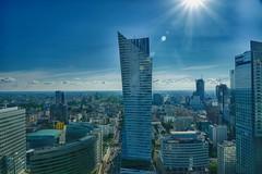 Warsaw panorama         Vista de Varsovia (Carlos M. M.) Tags: warsaw varsovia poland polonia hdr sonyalpha6000 sony city skyscraper sky