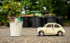 Tin Tours in August (Mandy Willard) Tags: 365 3108 tin car giuseppe