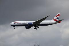 British Airways G-VIIN LHR 06/08/19 (ethana23) Tags: planes planespotting aviation avgeek aeroplane aircraft airplane boeing 777 777200er britishairways ba speedbird