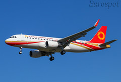 F-WWBS Airbus A320 Chengdu Airlines (@Eurospot) Tags: fwwbs airbus a320 chengduairlines 9185 toulouse blagnac