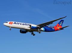F-WWYV Airbus A330 Neo Air Calin (@Eurospot) Tags: fwwyv fonet airbus a330 neo a330900 1938 toulouse blagnac aircalin
