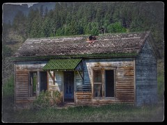Yesterday's hard times.... (Sherrianne100) Tags: deserted dilapidated cabin lonely abandoned colorado