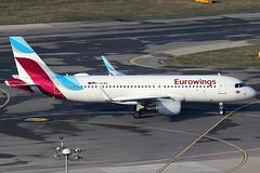 Eurowings Airbus 320-214 D-AEWQ (c/n 7398) (Manfred Saitz) Tags: vienna airport schwechat vie loww flughafen wien eurowings airbus 320 a320 daewq dreg
