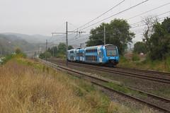 Un peu de bleu ciel avant l'averse (railmax07) Tags: train ferroviaire ter ter2npg z23500 rhonealpes aura lyon avignon mauves rivedroite sncf