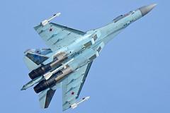"RF-81719/""52 Red"" (Nils Mosberg) Tags: maks2019 zhukovsky sukhoisu35sflankere flanker rf81719 russianaerospaceforces"