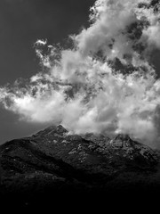 Clouds III (ndrearu) Tags: elba tuscany toscana canon 6d mark ii bw black white clouds outside landscape outdoor mount mountain sky dark