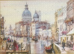 Postcard from VENICE (touring_fishman) Tags: september 2019 spain venice 1000 piece jig saw jigsaw puzzle whsmith themacneilstudio citybreaks