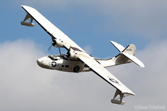 Consolidated PBV-1A Canso | 433915/G-PBYA | Plane Sailing | Cosby 07/09/19 (Shaun Schofield) Tags: aircraft aviation airshow aeroplane warbird historic consolidated catalina usa usaaf