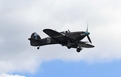 PZ865 Hurricane IIC CVT 08-09-19 (cvtperson) Tags: pz865 hawker hurricane battle britain memorial flight coventry airport cvt egbe