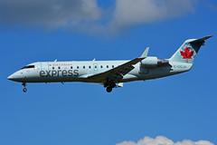 C-GQJA (Air Canada express - JAZZ) (Steelhead 2010) Tags: aircanada aircanadaexpress jazz yow creg bombardier canadair crj200 crj cgqja