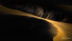 Swirl (Jerzy Orzechowski) Tags: wind dunes sand landscape storm namibia sandwichharbour shadows sunset light elitegalleryaoi bestcapturesaoi aoi