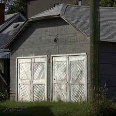 double garage from back in the day (zawaski -- Thank you for your visits & comments) Tags: alberta 4hire canada beauty naturallight lovwparis noflash serves revisit calgary love zawaski©2019 paris ambientlight lovepeace 2007 editing canonefs55250mmf456isstm