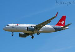 F-WWBM Airbus A320 Neo Air Travel (@Eurospot) Tags: b30an fwwbm airbus a320 neo 9186 toulouse blagnac airtravel