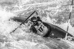 struggling against the swirl (murtica27) Tags: murtica sony alpha black white hdr schwarz weis nero bianco sport action dynamic extreme sachsen deutschland auenhain markkleeberg germany kanupark canoe kayak rudern canoeing wassersport