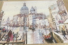 Postcard from VENICE-2 (touring_fishman) Tags: september 2019 spain venice 1000 piece jig saw jigsaw puzzle whsmith themacneilstudio citybreaks