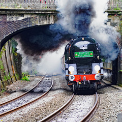 clan line 9487 (m.c.g.owen) Tags: clan line bath sydney gardens belmond british pullman steam uk southern railway bulleid merchant navy class pacific locomotive september 11th 2019 somerset 35028