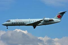 C-FFJA (Air Canada express - JAZZ) (Steelhead 2010) Tags: aircanada aircanadaexpress jazz yow creg bombardier canadair crj200 crj cffja