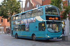 Arriva Shires 6043 LJ04LGY (Will Swain) Tags: watford 19th august 2019 bus buses transport transportation travel uk britain vehicle vehicles county country england english arriva shires 6043 lj04lgy former london dw80 80 dw