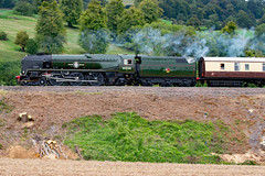 clan line 9472 (m.c.g.owen) Tags: clan line bath sydney gardens belmond british pullman steam uk southern railway bulleid merchant navy class pacific locomotive september 11th 2019 somerset 35028