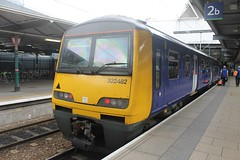 Northern 322 482 (Ray's Photo Collection) Tags: leeds northern 322 482 arriva west yorkshire yorks emu