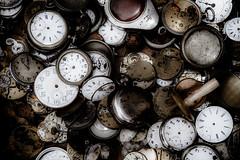 Time has stopped (vale0065) Tags: watch watches klok horloge polshorloge wristwatch antiek antique tijd time clockhand wijzer broken kappot stuk belgium belgië fleemarket rommelmarkt vlooienmarkt brocante pocketwatch