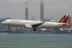RP-C9907 (PlanePixNase) Tags: hkg vhhh hongkong cheplapkok airport aircraft planespotting airbus philippines 321 a321