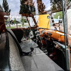 VW_T1_Innenraum (Lothar Heller) Tags: lotharheller automobil bulli classic classiccar doka dopplekabine flughafenmünchenriem innenraum inside oldtimer reflection reflektion t1 vw