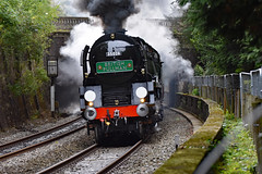 clan line 9488 (m.c.g.owen) Tags: clan line bath sydney gardens belmond british pullman steam uk southern railway bulleid merchant navy class pacific locomotive september 11th 2019 somerset 35028