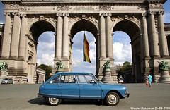 My Citroën Ami 8 Club (1970) (Wouter Bregman) Tags: 0953ms citroën ami 8 club 1970 citroënami8 citroënami ami8 bleu danube blue autoworld museum jubelpark parc du cinquantenaire brussels bruxelles brussel belgium belgique belgië vintage old classic french car auto automobile voiture ancienne française france frankrijk vehicle outdoor