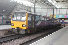 Northern Pacer 144 010 (Ray's Photo Collection) Tags: leeds 144 northern pacer 010 55810 west yorkshire yorks dmu arriva