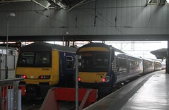 Northern 322 482 and 170 455 (Ray's Photo Collection) Tags: leeds 455 northern 170 322 482 arriva west yorkshire yorks emu turbostar dmu