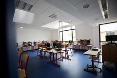 """Conférence de presse au collège """"Les nénuphars"""" de Bréval : Rentrée dans les collèges (Département des Yvelines) Tags: collègedesnénupharsbréval bréval classe"""