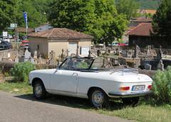 Peugeot 204 Cabriolet (Spottedlaurel) Tags: peugeot 204