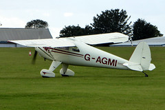 G-AGMI Luscombe 8E Silvaire Deluxe cn 1569 Sywell 01Sep19 (kerrydavidtaylor) Tags: orm egbk sywellaerodrome northamptonshire