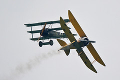 Fokker DR.1 - Tummelisa (toptag) Tags: fokkerdr1 fokker dr1 loxz zeltweg airpower tummelisa airshow sexxz