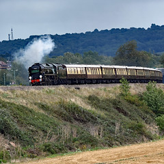 clan line 9465 (m.c.g.owen) Tags: clan line bath corston belmond british pullman steam uk southern railway bulleid merchant navy class pacific locomotive september 11th 2019 somerset 35028