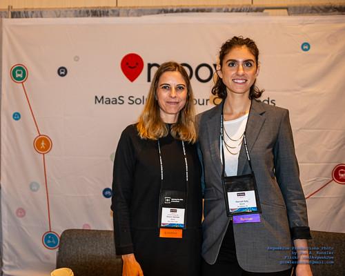 Two of the Geniuses Behind Moovit - Sharon Salzman AND Hannah Katz